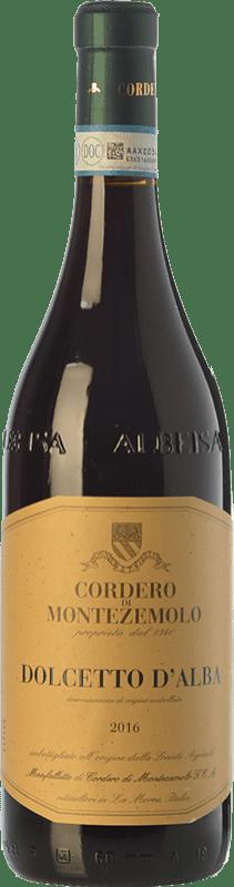12,95 € Free Shipping | Red wine Cordero di Montezemolo D.O.C.G. Dolcetto d'Alba Piemonte Italy Dolcetto Bottle 75 cl