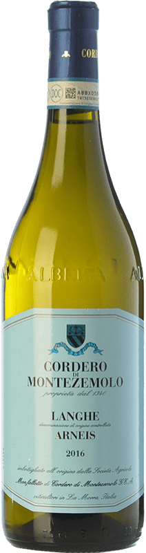 12,95 € Free Shipping | White wine Cordero di Montezemolo D.O.C. Langhe Piemonte Italy Arneis Bottle 75 cl