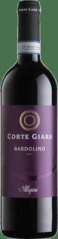 9,95 € Envoi gratuit | Vin rouge Corte Giara D.O.C. Bardolino Vénétie Italie Corvina, Rondinella, Molinara Bouteille 75 cl