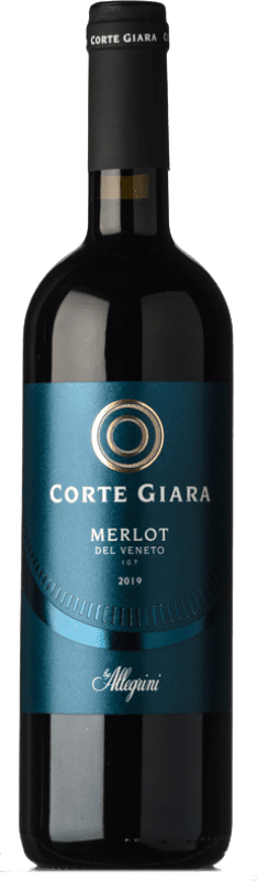8,95 € Free Shipping | Red wine Corte Giara I.G.T. Veneto Veneto Italy Merlot Bottle 75 cl