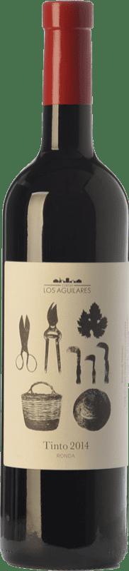 14,95 € 免费送货   红酒 Los Aguilares Joven D.O. Sierras de Málaga 安达卢西亚 西班牙 Tempranillo, Merlot, Syrah 瓶子 75 cl