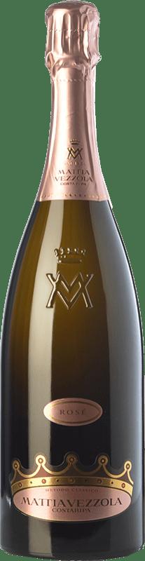 23,95 € | Rosé sparkling Costaripa Mattia Vezzola Rosé Brut D.O.C. Garda Lombardia Italy Pinot Black, Chardonnay Bottle 75 cl
