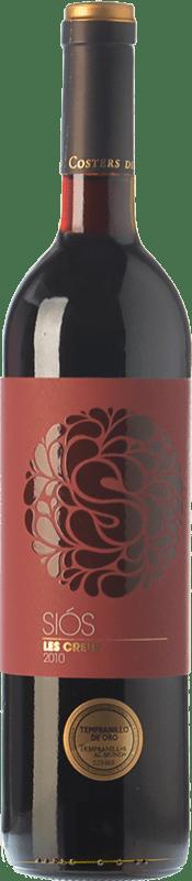 11,95 € | Red wine Costers del Sió Siós Les Creus D.O. Costers del Segre Catalonia Spain Tempranillo, Grenache Bottle 75 cl