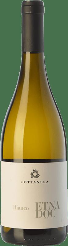18,95 € | White wine Cottanera Bianco D.O.C. Etna Sicily Italy Carricante Bottle 75 cl