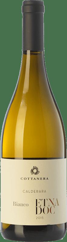 22,95 € | White wine Cottanera Bianco Contrada Calderara D.O.C. Etna Sicily Italy Carricante Bottle 75 cl