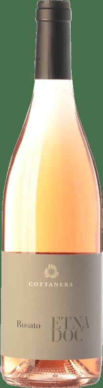 12,95 € | Rosé wine Cottanera Rosato D.O.C. Etna Sicily Italy Nerello Mascalese Bottle 75 cl