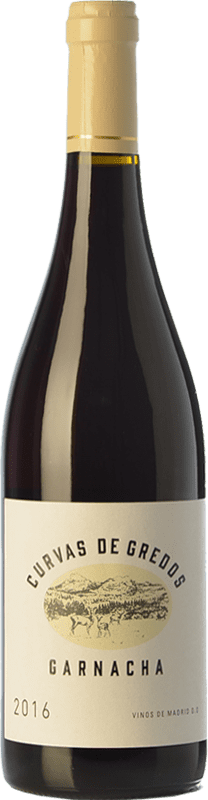 13,95 € Free Shipping | Red wine Cristo del Humilladero Curvas de Gredos Joven D.O. Vinos de Madrid Madrid's community Spain Grenache Bottle 75 cl