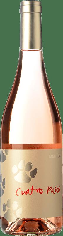 4,95 € 免费送货   玫瑰酒 Cuatro Pasos Joven D.O. Bierzo 卡斯蒂利亚莱昂 西班牙 Mencía 瓶子 75 cl