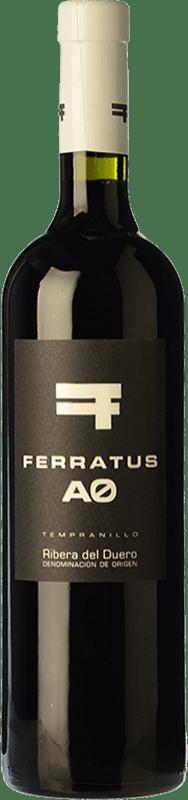 13,95 € Free Shipping | Red wine Cuevas Jiménez Ferratus AO Joven D.O. Ribera del Duero Castilla y León Spain Tempranillo Bottle 75 cl