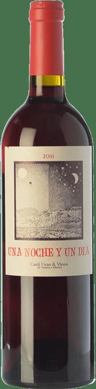9,95 € Free Shipping | Red wine Curii Una Noche y Un Día Joven D.O. Alicante Valencian Community Spain Grenache Bottle 75 cl