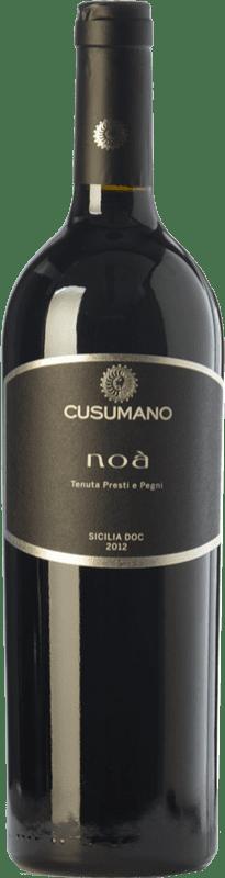 33,95 € Envío gratis | Vino tinto Cusumano Noà I.G.T. Terre Siciliane Sicilia Italia Merlot, Cabernet Sauvignon, Nero d'Avola Botella 75 cl