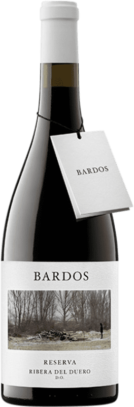 19,95 € | Red wine Bardos Mítica Reserva D.O. Ribera del Duero Castilla y León Spain Tempranillo, Cabernet Sauvignon Bottle 75 cl