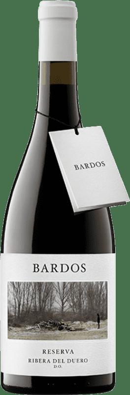 19,95 € Envío gratis | Vino tinto Bardos Mítica Reserva D.O. Ribera del Duero Castilla y León España Tempranillo, Cabernet Sauvignon Botella 75 cl