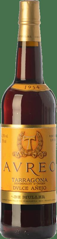 18,95 € 免费送货 | 甜酒 De Muller Aureo Añejo D.O. Tarragona 加泰罗尼亚 西班牙 Grenache, Grenache White 瓶子 75 cl