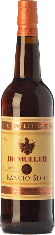 6,95 € | Fortified wine De Muller Rancio Seco D.O.Ca. Priorat Catalonia Spain Grenache, Carignan Bottle 75 cl