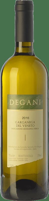 9,95 € Envío gratis | Vino blanco Degani I.G.T. Veneto Veneto Italia Garganega Botella 75 cl