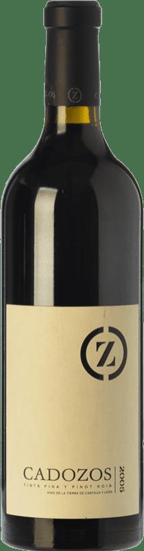 18,95 € Free Shipping | Red wine Dehesa de Cadozos Joven I.G.P. Vino de la Tierra de Castilla y León Castilla y León Spain Tempranillo, Pinot Black Bottle 75 cl