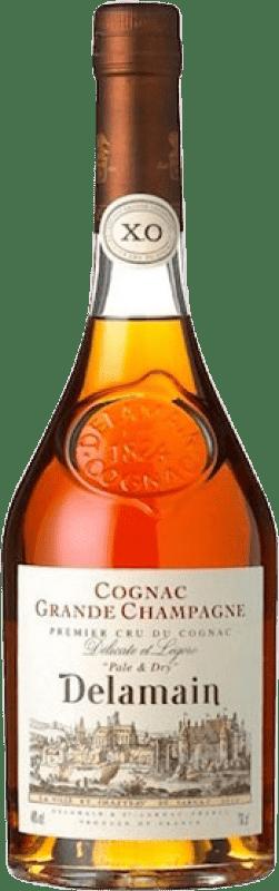 88,95 € 免费送货 | 科涅克白兰地 Delamain Pale & Dry X.O. Extra Old A.O.C. Cognac 法国 瓶子 70 cl