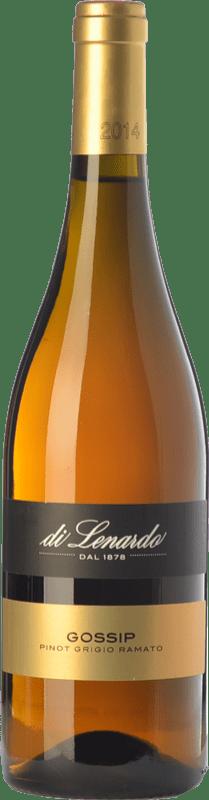 9,95 € Free Shipping | White wine Lenardo Gossip I.G.T. Friuli-Venezia Giulia Friuli-Venezia Giulia Italy Pinot Grey Bottle 75 cl