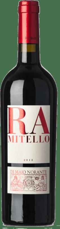 16,95 € Free Shipping | Red wine Majo Norante Ramitello D.O.C. Biferno Molise Italy Montepulciano, Aglianico Bottle 75 cl