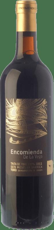 6,95 € 免费送货 | 红酒 Divina Proporción Encomienda de la Vega Joven D.O. Toro 卡斯蒂利亚莱昂 西班牙 Tinta de Toro 瓶子 75 cl
