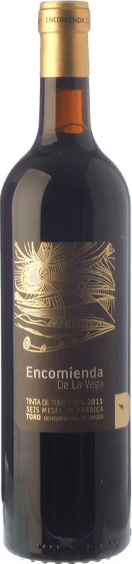 Kostenloser Versand | Rotwein Divina Proporción Encomienda de la Vega Jung 2015 D.O. Toro Kastilien und León Spanien Tinta de Toro Flasche 75 cl