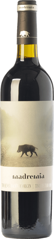 12,95 € Envío gratis | Vino tinto Divina Proporción Madremía Joven D.O. Toro Castilla y León España Tinta de Toro Botella 75 cl