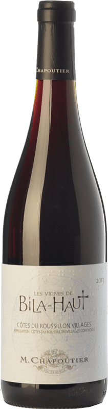 14,95 € | Red wine Domaine de Bila-Haut Les Vignes Rouge Joven A.O.C. Côtes du Roussillon Villages Languedoc-Roussillon France Syrah, Grenache, Carignan Bottle 75 cl