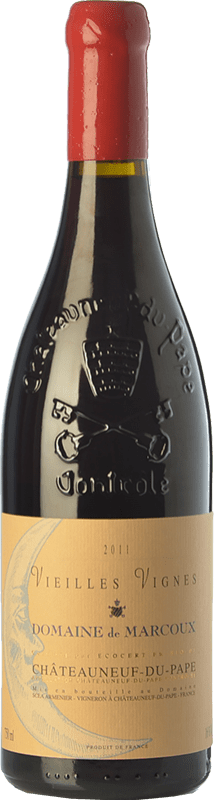 159,95 € 免费送货   红酒 Domaine de Marcoux Vieilles Vignes Crianza A.O.C. Châteauneuf-du-Pape 罗纳 法国 Grenache 瓶子 75 cl