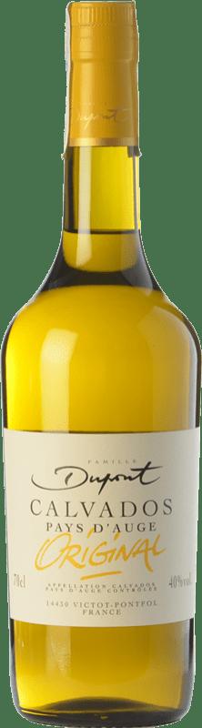 59,95 € Envío gratis | Calvados Domaine Dupont I.G.P. Calvados Pays d'Auge Francia Botella 70 cl