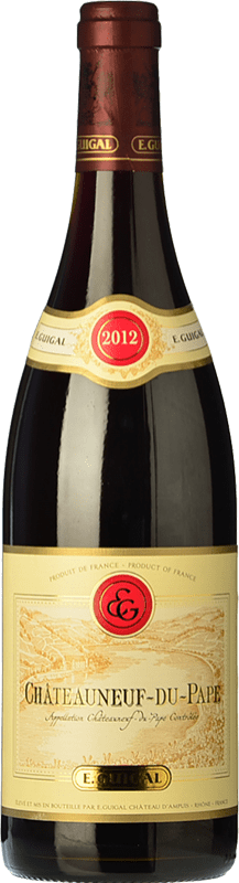 48,95 € Free Shipping | Red wine Domaine E. Guigal Rouge Reserva A.O.C. Châteauneuf-du-Pape Rhône France Syrah, Grenache, Monastrell Bottle 75 cl