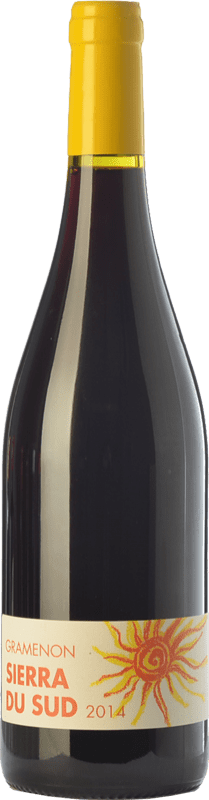 18,95 € Free Shipping | Red wine Domaine Gramenon Sierra du Sud Joven A.O.C. Côtes du Rhône Rhône France Syrah Bottle 75 cl