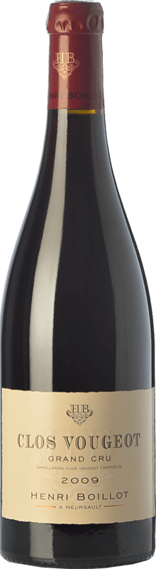 157,95 € | Red wine Domaine Henri Boillot Grand Cru Crianza 2009 A.O.C. Clos de Vougeot Burgundy France Pinot Black Bottle 75 cl