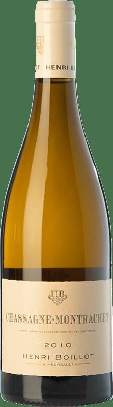 49,95 € 免费送货   白酒 Domaine Henri Boillot Crianza A.O.C. Chassagne-Montrachet 勃艮第 法国 Chardonnay 瓶子 75 cl