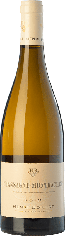 49,95 € | White wine Domaine Henri Boillot Crianza 2010 A.O.C. Chassagne-Montrachet Burgundy France Chardonnay Bottle 75 cl