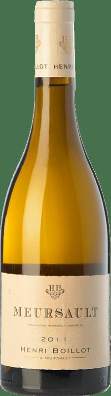 49,95 € Envío gratis | Vino blanco Domaine Henri Boillot Crianza A.O.C. Meursault Borgoña Francia Chardonnay Botella 75 cl