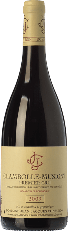 134,95 € Free Shipping | Red wine Confuron Chambolle-Musigny Premier Cru Crianza A.O.C. Bourgogne Burgundy France Pinot Black Bottle 75 cl