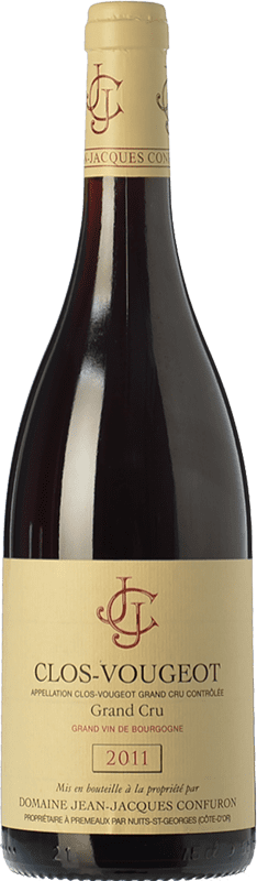 211,95 € Free Shipping | Red wine Confuron Clos-Vougeot Grand Cru Crianza A.O.C. Bourgogne Burgundy France Pinot Black Bottle 75 cl