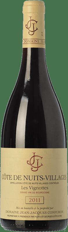 41,95 € Free Shipping | Red wine Confuron Côte de Nuits V. Les Vignottes Crianza A.O.C. Bourgogne Burgundy France Pinot Black Bottle 75 cl