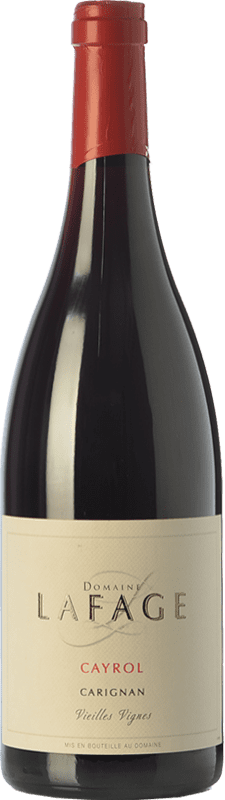 16,95 € Free Shipping | Red wine Domaine Lafage Cayrol Joven I.G.P. Vin de Pays Côtes Catalanes Languedoc-Roussillon France Carignan Bottle 75 cl