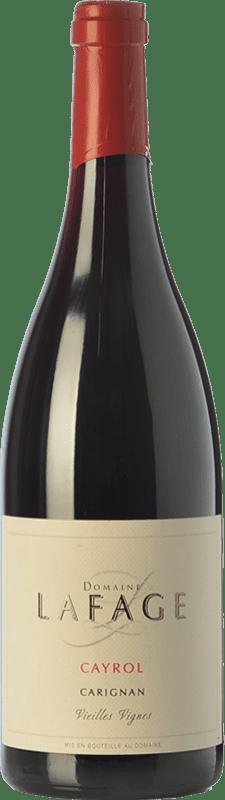 16,95 € Envoi gratuit | Vin rouge Domaine Lafage Cayrol Joven I.G.P. Vin de Pays Côtes Catalanes Languedoc-Roussillon France Carignan Bouteille 75 cl