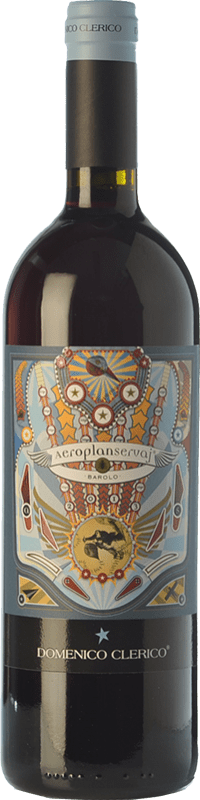 106,95 € | Red wine Domenico Clerico Aeroplanservaj D.O.C.G. Barolo Piemonte Italy Nebbiolo Bottle 75 cl