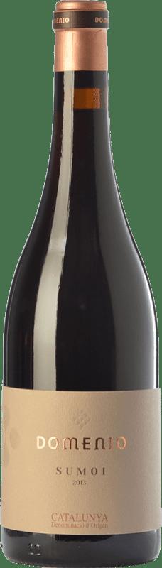 16,95 € Free Shipping | Red wine Domenys Domenio Sumoi Joven D.O. Catalunya Catalonia Spain Sumoll Bottle 75 cl