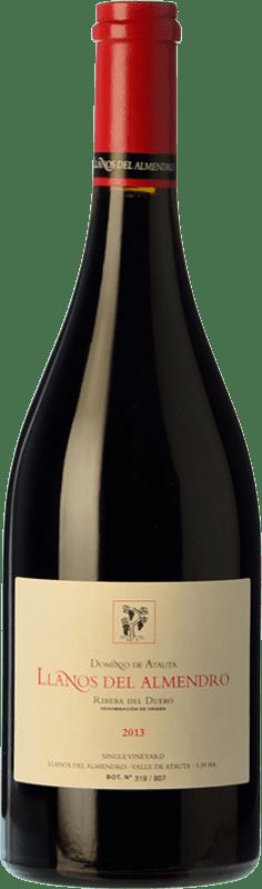 125,95 € 免费送货 | 红酒 Dominio de Atauta Llanos del Almendro Crianza 2010 D.O. Ribera del Duero 卡斯蒂利亚莱昂 西班牙 Tempranillo 瓶子 75 cl