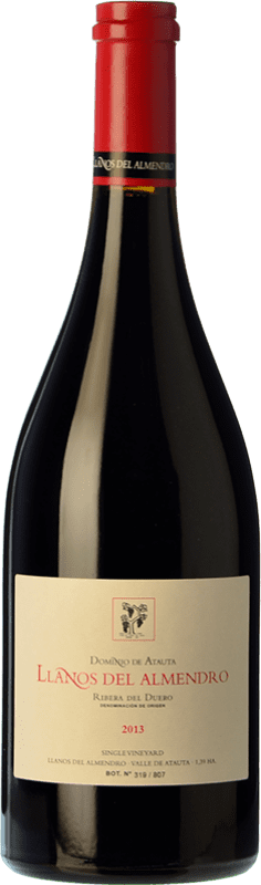 125,95 € Free Shipping | Red wine Dominio de Atauta Llanos del Almendro Crianza 2010 D.O. Ribera del Duero Castilla y León Spain Tempranillo Bottle 75 cl