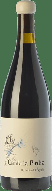 302,95 € | Red wine Dominio del Águila Canta La Perdiz Crianza D.O. Ribera del Duero Castilla y León Spain Tempranillo, Carignan, Bobal, Albillo, Bruñal Bottle 75 cl