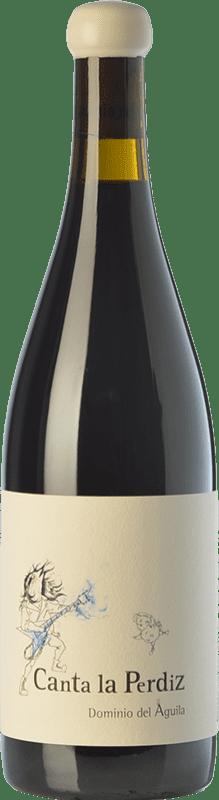 832,95 € Envío gratis | Vino tinto Dominio del Águila Canta La Perdiz Crianza D.O. Ribera del Duero Castilla y León España Tempranillo, Cariñena, Bobal, Albillo, Bruñal Botella Mágnum 1,5 L
