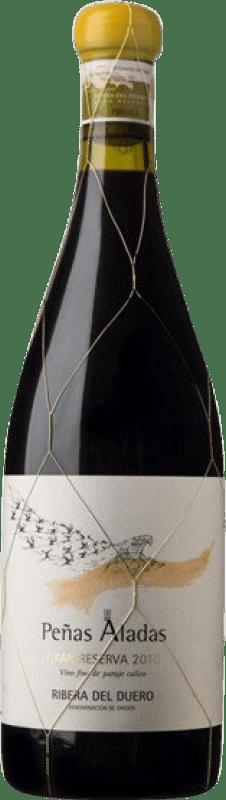 184,95 € Envío gratis | Vino tinto Dominio del Águila Peñas Aladas GR Gran Reserva D.O. Ribera del Duero Castilla y León España Tempranillo, Albillo, Bruñal Botella 75 cl