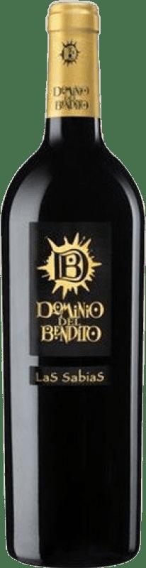 28,95 € Free Shipping | Red wine Dominio del Bendito Las Sabias Crianza D.O. Toro Castilla y León Spain Tinta de Toro Bottle 75 cl