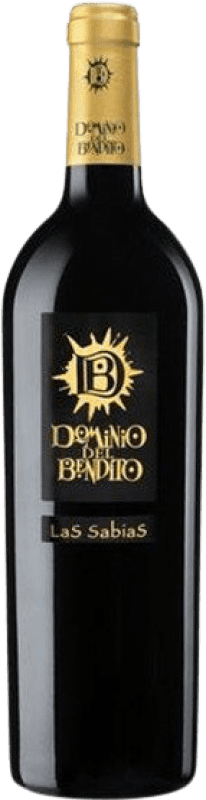 28,95 € Envío gratis | Vino tinto Dominio del Bendito Las Sabias Crianza D.O. Toro Castilla y León España Tinta de Toro Botella 75 cl